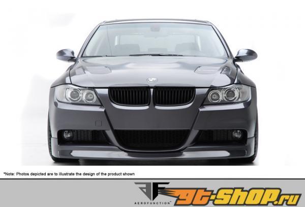 Aero Function AF-1 передний  Add-On Спойлер CFP (M-Tech бампер only) BMW 3-Series 06-08