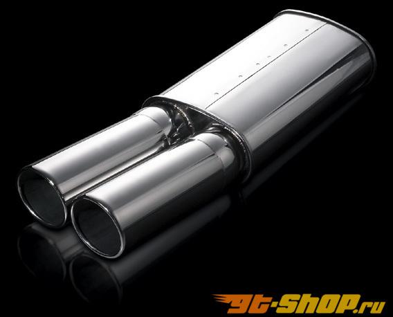 AimGain 16 нержавеющий Muffler 01 Type Y Lexus GS300 98-04