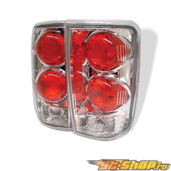 Задние фары для Chevrolet Blazer 95-01 Altezza Хром: Spyder