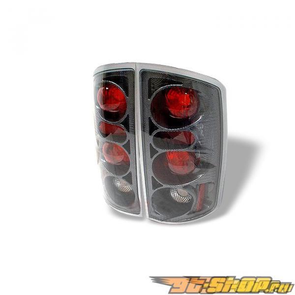 Задняя оптика на Dodge Ram 02-05 Altezza Карбон: Spyder
