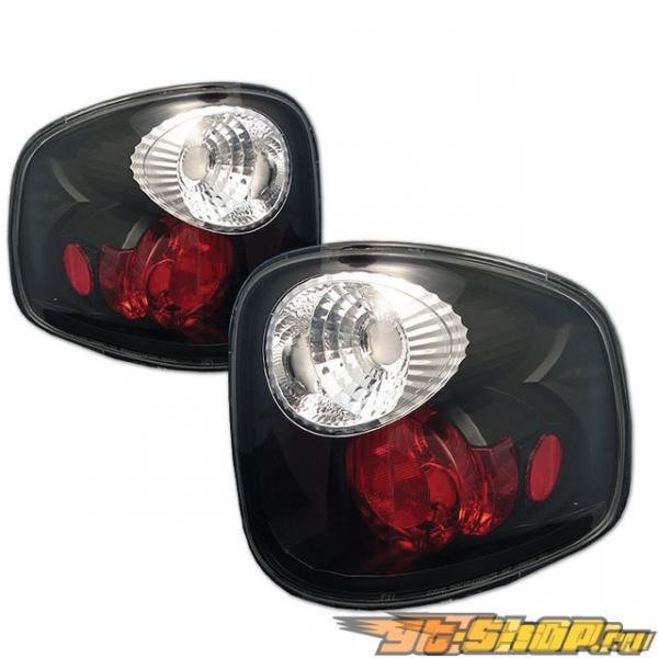 Задняя оптика на Ford F150 01-03 Altezza Чёрный : Spyder