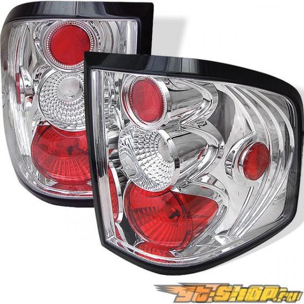 Задняя оптика для Ford F150 04-05  Altezza Стиль Хром : Spyder