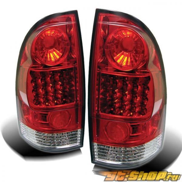 Задние фонари для Toyota Tacoma 05-07 Красный: Spyder