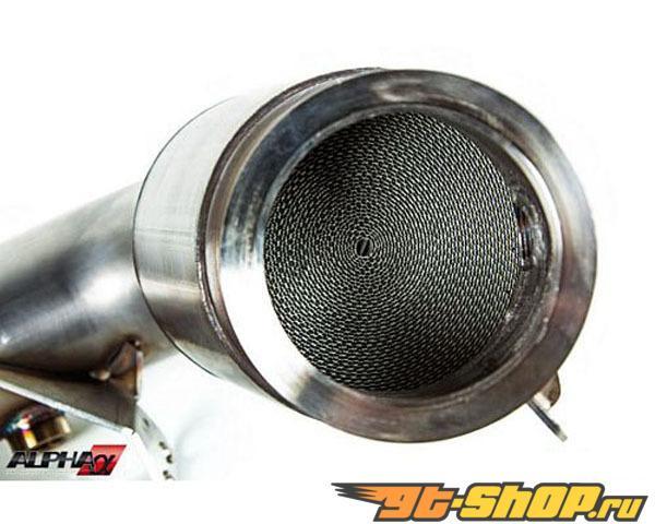 AMS Alpha 3.5 Inch to 3 Inch нержавеющий Steel Downpipes BMW M6 F12|F13 4.4L Bi-Turbo 13+
