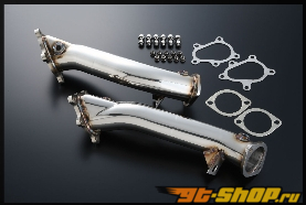 Amuse R1000 Титан Turbo Outlet Pipes Nissan GT-R R35 09-14