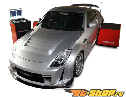 Amuse из сухого карбона Bonnet Type 02 Nissan 350Z 03-08