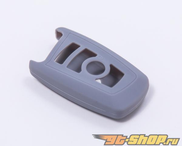Agency Power Grey Rubber Key FOB Protection Case BMW 7 Series 13-14