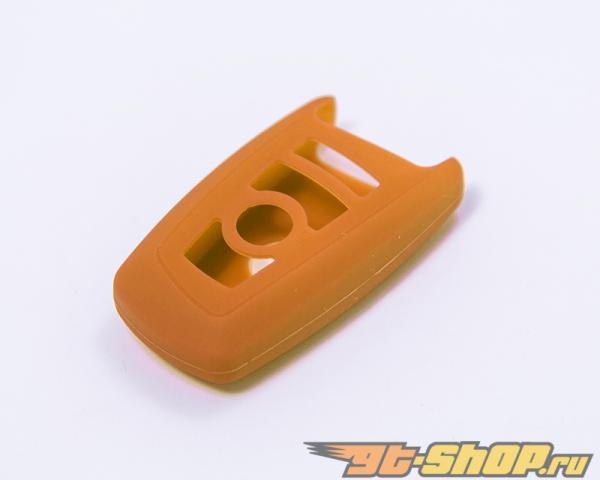 Agency Power Orange Rubber Key FOB Protection Case BMW 6 Series 13-15