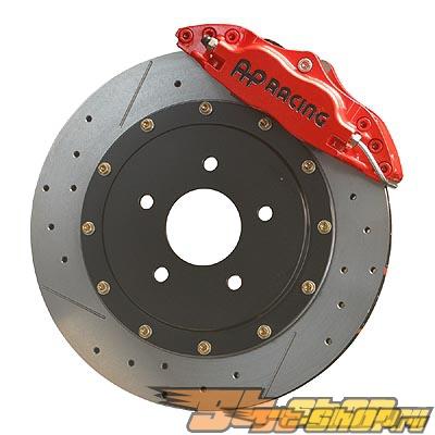 AP Тормозная система задний Красный 93-98 Supra 4-поршневые 2pc 13