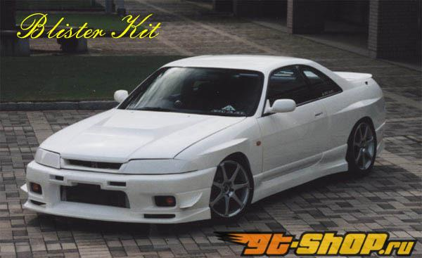 Aero Palece задний крылья 02 Nissan Skyline R33 Coupe Including GT-R 95-98