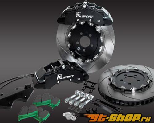 Ksport SuperComp передний  8 поршневые 16.5 Inch Большой тормозной комплект Cadillac Escalade 07-13