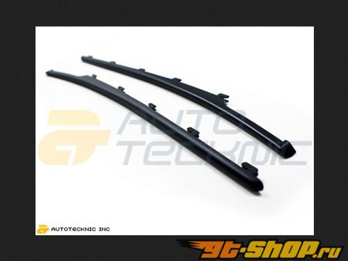 AutoTecknic Replacement ABS Matte Чёрный крылья Slats BMW E63 Coupe | E64 Cabrio | 6 Series 04-11