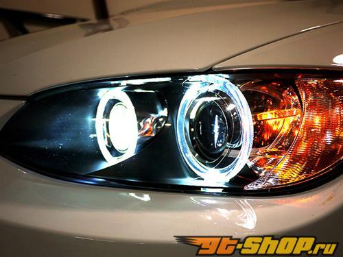 AutoTecknic H8 Led Angel Eyes Bulbs BMW 6 Series: E63 E64 LCI 07.07-11