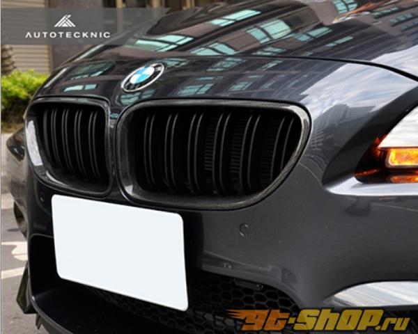Auto Tecknic Replacment Dual Slat Карбоновый передний  Grilles BMW 650i F06 | F12 | F13 12-15