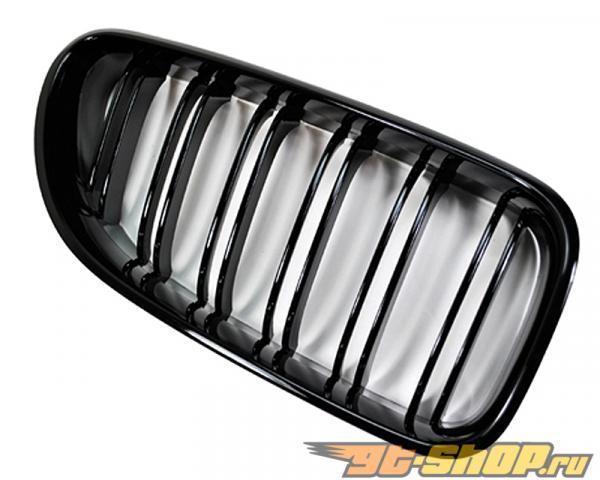Auto Tecknic Replacment Dual Slat Glaze Чёрный передний  Grilles BMW 640i F06 | F12 | F13 12-15