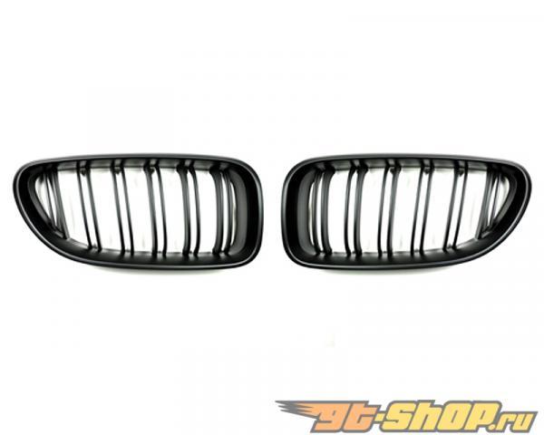 Auto Tecknic Replacment Dual Slat Stealth Чёрный передний  Grilles BMW 640i F06   F12   F13 12-15
