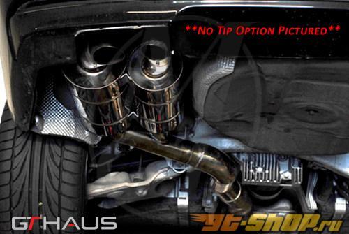 Meisterschaft нержавеющий HP Touring выхлоп 2x120x80mm Tips BMW 745 седан 02-08 | 760 седан 02-06