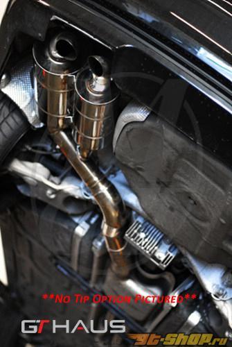 Meisterschaft нержавеющий GTC выхлоп 2x120x80mm Tips BMW 745 седан 02-08 | 760 седан 02-06