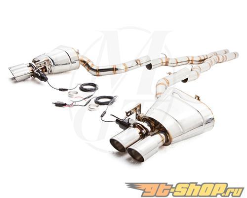 Meisterschaft нержавеющий GTC Выхлопная система 4x90mm Tips BMW 650i   650xi Gran Coupe F06 13-15