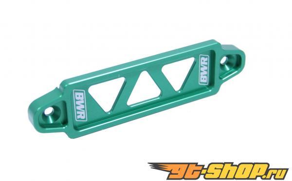 Blackworks Racing Green Billet Battery Tie Down Acura Integra