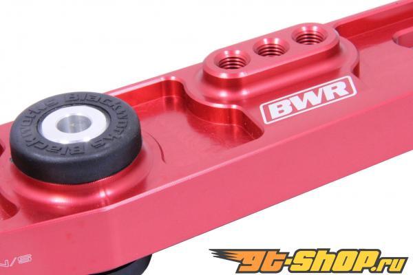 Blackworks Racing Красный Billet Lower Control Arm Acura Integra 90-01