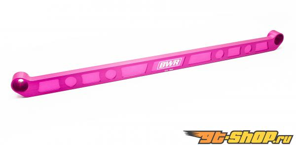 Blackworks Racing Pink Billet задний Tie Bar Honda Civic 92-95