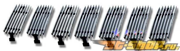 Решётка радиатора на Hummer H2 03-05 Billet Vertical