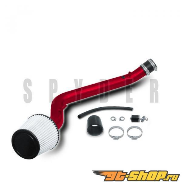 Spyder Красный Cold Air Intake Filter Honda Civic EX 99-00