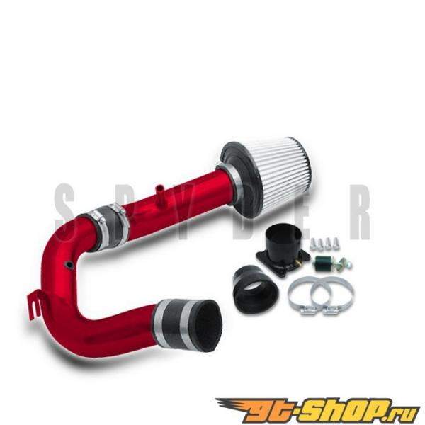Spyder Красный Cold Air Intake Filter Nissan Sentra 00-05