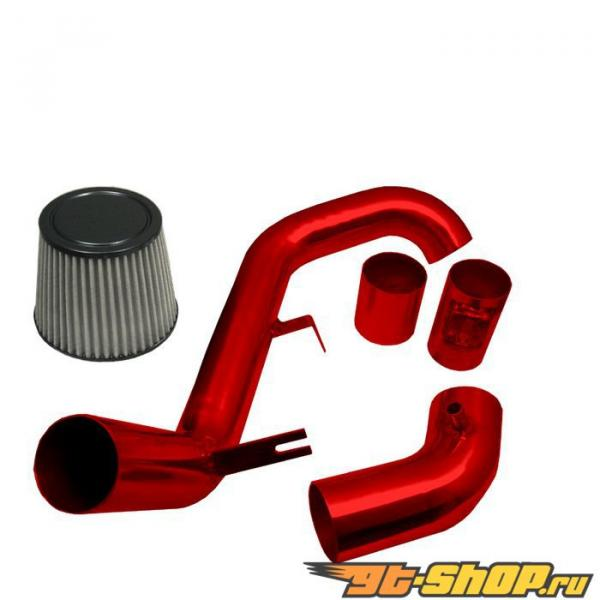 Spyder Красный Cold Air Intake Filter Honda Civic 06-08
