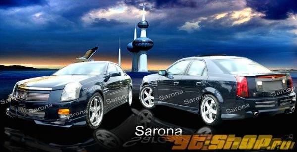 Аэродинамический Обвес на Cadillac CTS 2003-2006