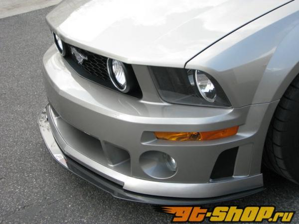 APR Performance Карбоновый Wind Splitter With Rods Ford Mustang Roush 05-09