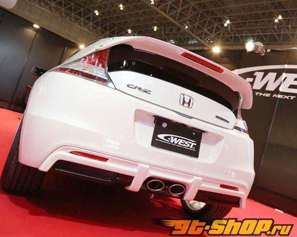 C-West задний диффузор ABS Primered Honda CR-Z 11-13