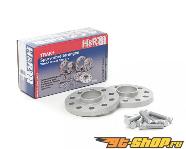H&R Trak+ | 3/112 | 57 | Bolt | 12x1.5 | 15mm | DR Диски Spacer MCC Smart Fortwo Type 451, Coupe, Cabrio 08-13