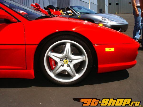 StopTech задний 13 Inch 4 поршневые Большой тормозной комплект Ferrari 348 355 89-99