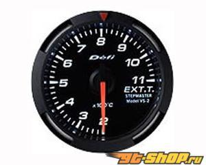 Defi Racer Series 52mm Metric температуры выхлопа Датчик - Белый