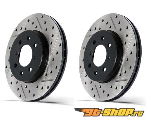 StopTech SportStop Drilled & тормозные диски задний пара Audi A4 96-01
