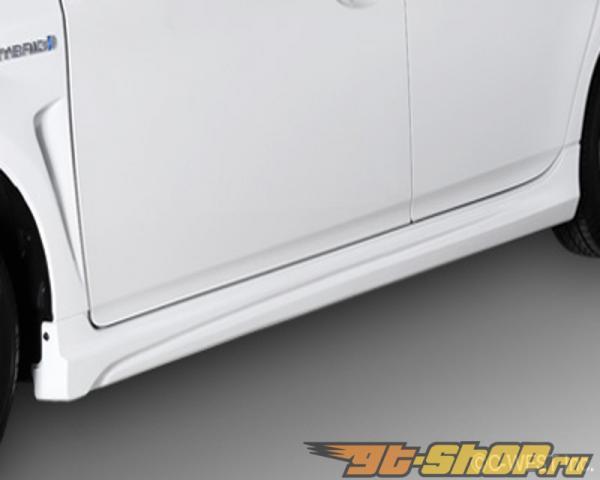 C-West Side Skirt ABS Super Белый Toyota Prius 10-14