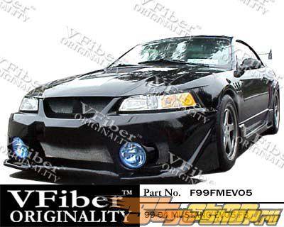 Обвес по кругу для Ford Mustang 99-04 EVO5 VFiber