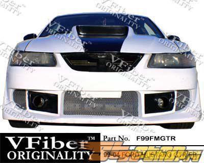 Передний бампер на Ford Mustang 99-04 GTR VFiber