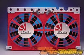 FLEX-A-LITE Electric Fan - Mitsubishi Eclipse Turbo 95-99 (Красный)
