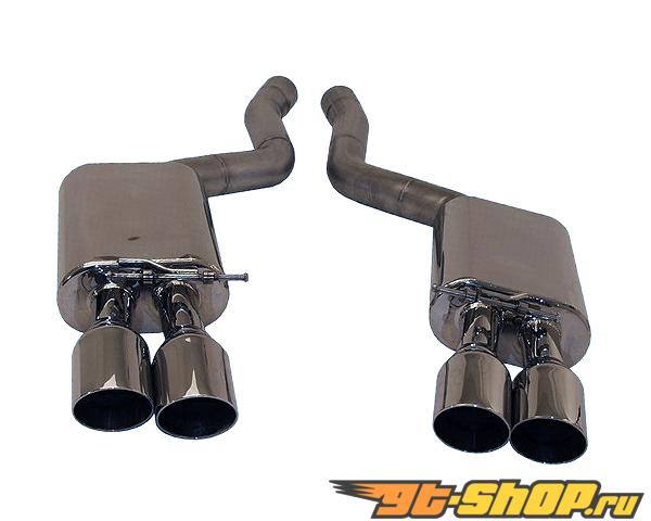 B&B Axle Back Выхлопная система BMW E63 M6 (Coupe/Convertible) 06-09