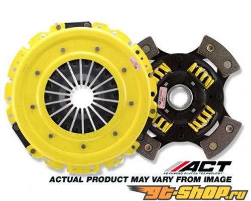 ACT HDG4 - Heavy Duty With Sprung 4 Puck Disc  Сцепление  Kits 1993-1996 Toyota 4Runner 2.4L 22RE, 355 ft.lbs, 35% Pedal Increase