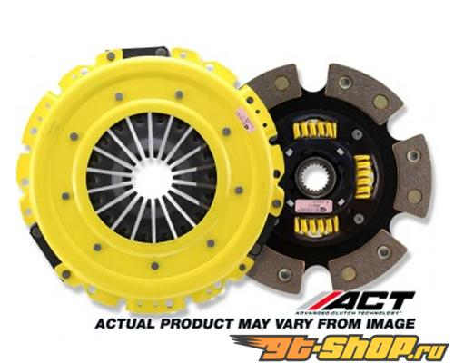 ACT HDG6 - Heavy Duty with Sprung 6 Puck Disc  Сцепление  Kits 1986-1992 Mazda RX-7 Non Turbo, 242 ft.lbs, 34% Pedal Increase
