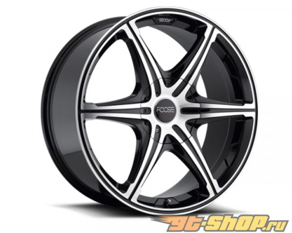 FOOSE 6 Speed F147 Чёрный with Machined Face Диски 20x9 6x115 | 6x120 +40mm