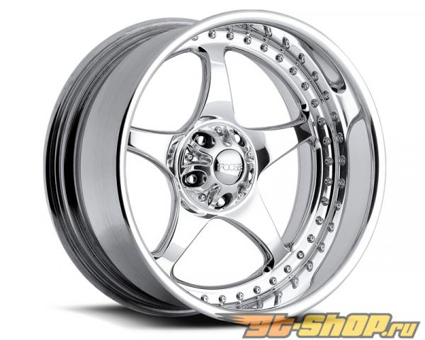 FOOSE Five00 F221 Polished Диски 17x8 4x4.25 0mm