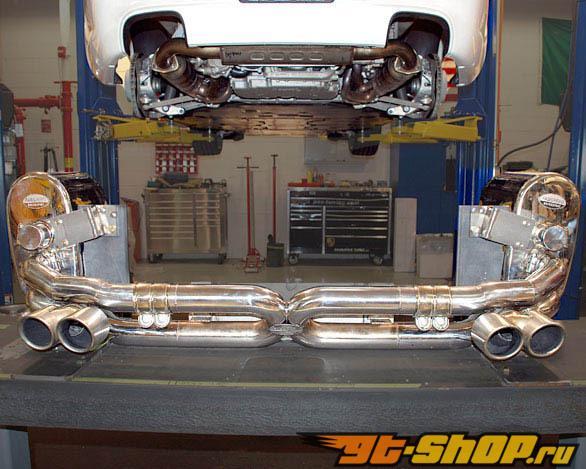 Fabspeed ECU Performance Package Mufflers Tips X-Pipe ECU Intake Porsche 997.2 Carrera 09-11