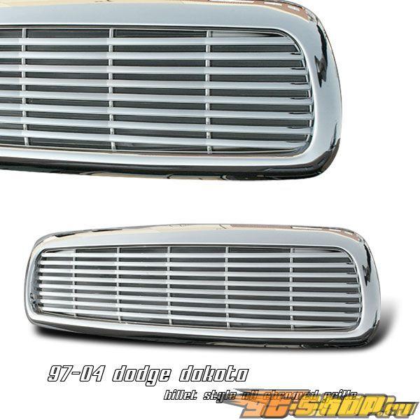 Решётка радиатора для Dodge Dakota 97-04 Billet Хром