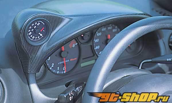 Garage Vary Meter Cover|Meter капот 02 Type B - Карбон - Mazda Miata 99-05