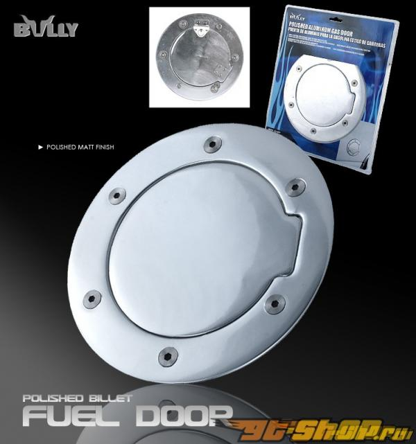2002-2005 Dodge Ram Aluminum Fuel Door - Polished